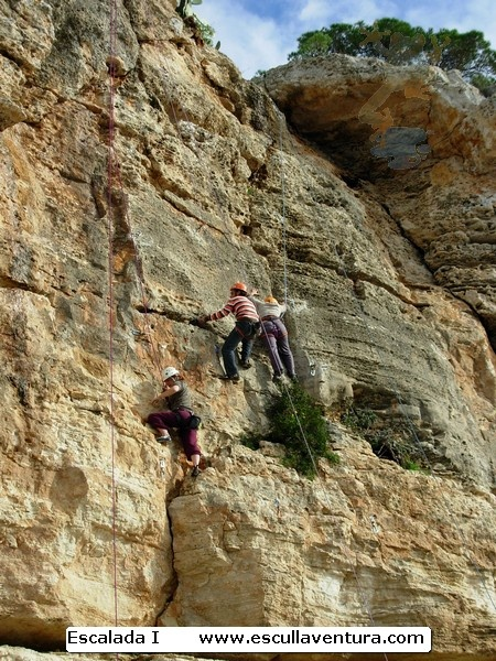 Initiation climbing course